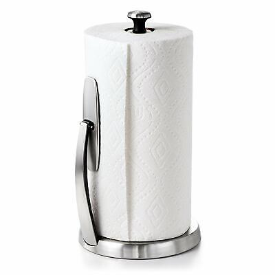OXO Good Grips SimplyTear Standing Paper Towel Holder Stainless Steel 1066736