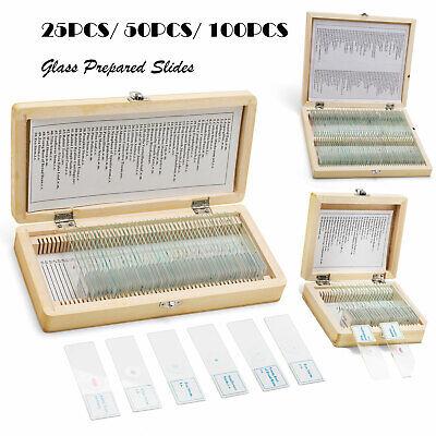 Swift Professional 2550100pcs Prepared Microscope Slides Plant Specimen Glass
