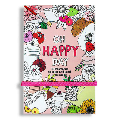 Image result for adult coloring postcards