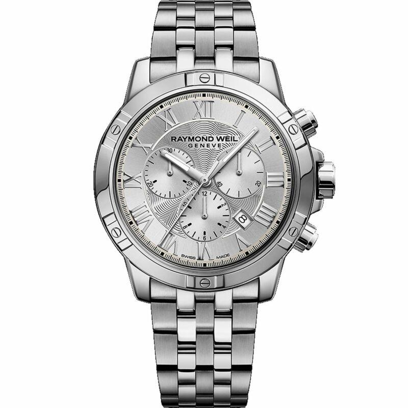 Raymond Weil 8560-ST-00658 Men Tango Silver Quartz Watch