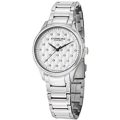 Stuhrling Culcita Women's 36mm Silver Steel Bracelet & Case Quartz Watch 567.01