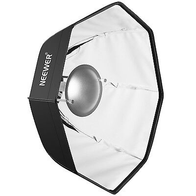 "Neewer Photo Studio 24"" Beauty Dish and Octagonal Softbox w/ Bowens Speedring"
