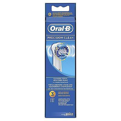 Oral-B Precisionclean Cepillo de Dientes Eléctrico Recambio Cabezales Accionado