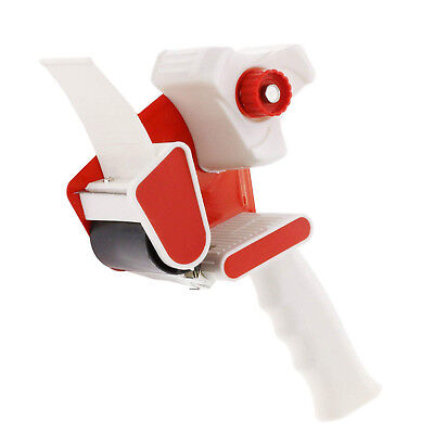 2-inch Red Handheld Industrial Side Loading Packaging Tape Dispenser