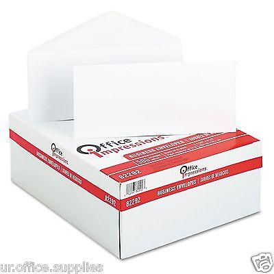500-pack Plain Mail Envelopes Letter Mailing White Business Size10 Office 4x9.5
