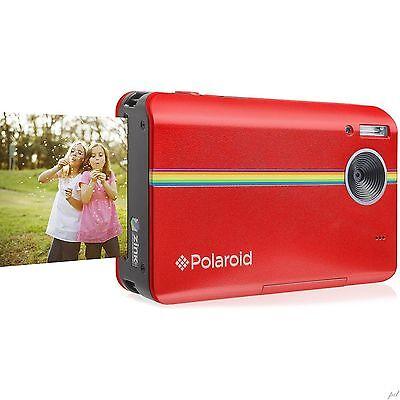 Polaroid Z2300 10MP Digital Instant Print Camera (Red)