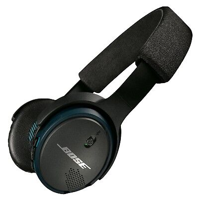 Bose SoundLink On-Ear Bluetooth Wireless Headphones, Black Factory-Renewed
