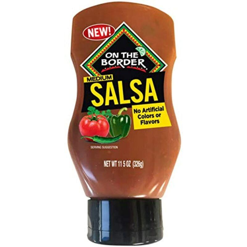 On The Border Medium Salsa Squeeze Bottle SHELF PULL OVERSTOCK SALE