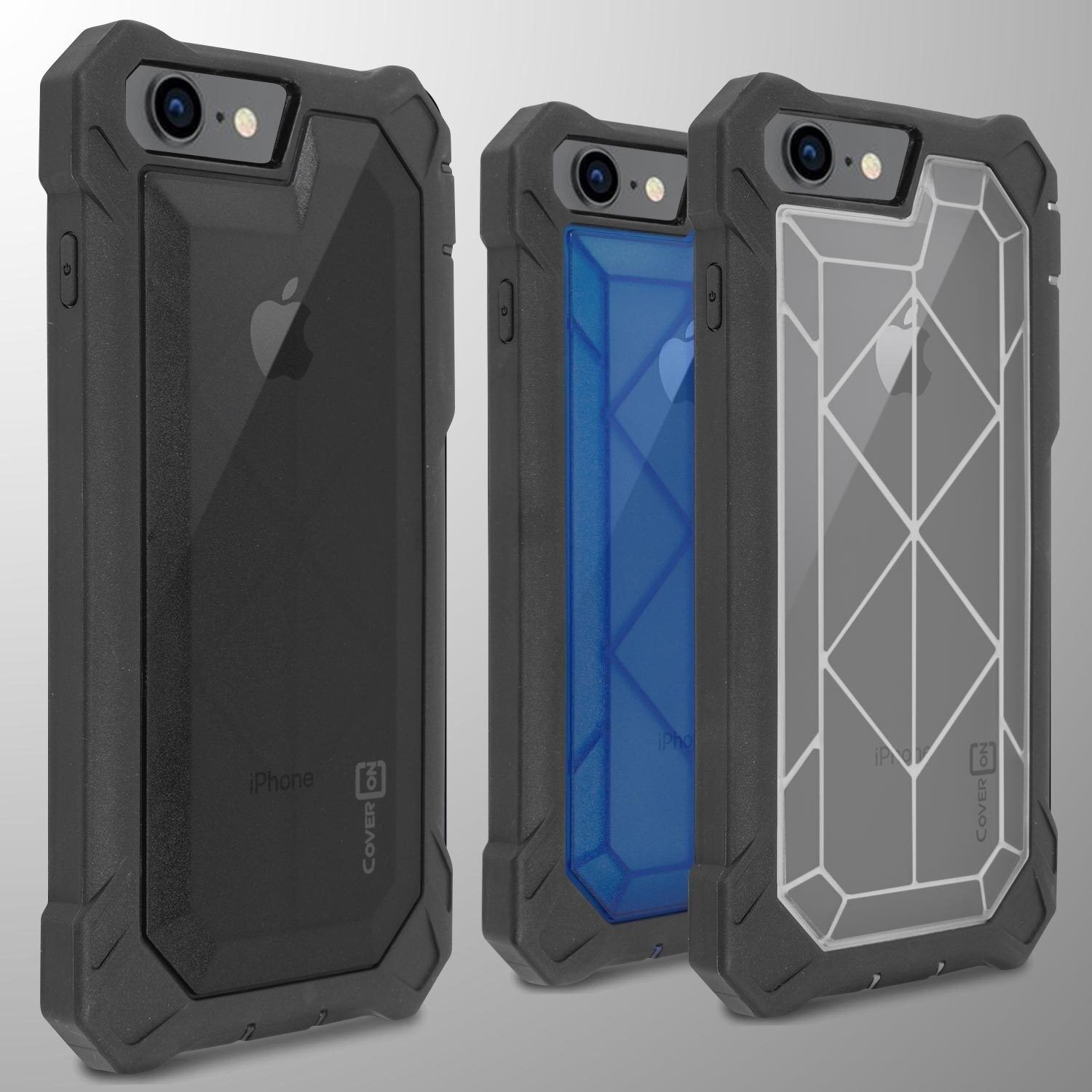 For Apple iPhone 8 / iPhone 7 Phone Case Tough Hard Full Bod