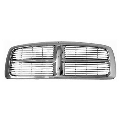 New Grille Chrome Frame Front For Dodge Ram 1500 2500 3500 2002-2005 CH1200261