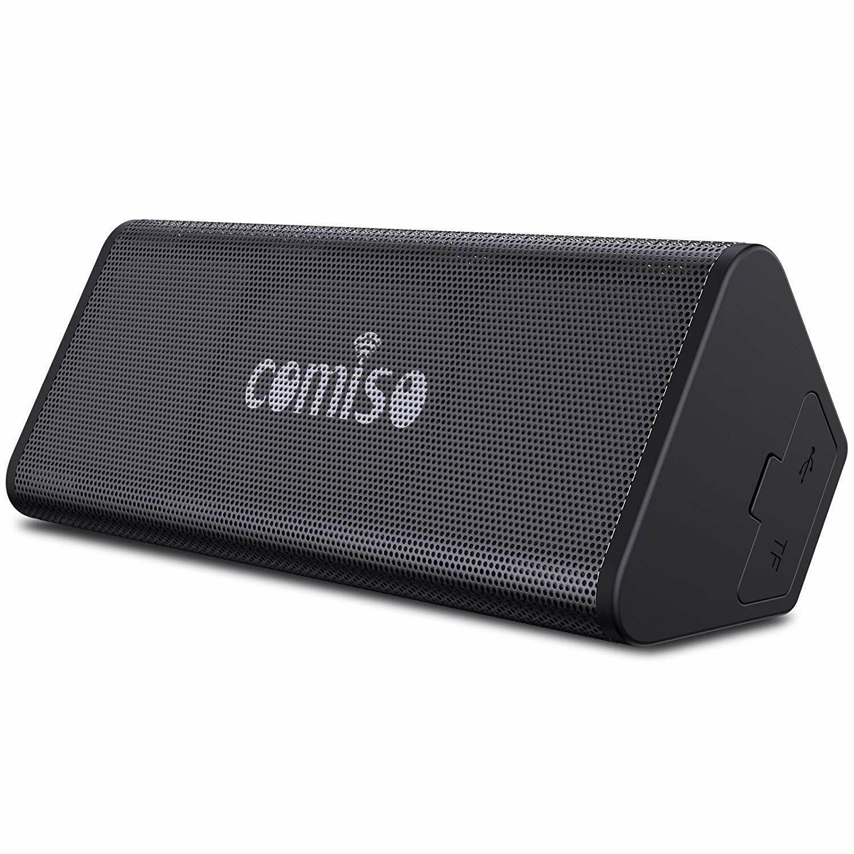 COMISO Bluetooth Speakers, IPX7 Waterproof Wireless Portable