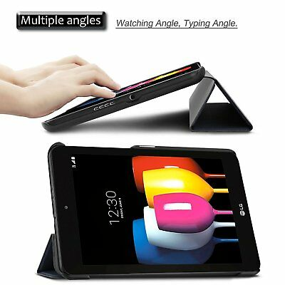 Wake/Sleep Stand Case Cover For LG G Pad X II X2 8.0 PLUS  V530 2017 Tablet