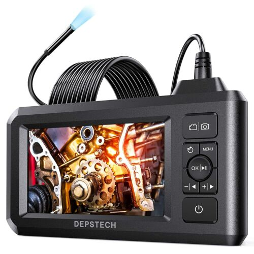DEPSTECH 1080P HD Digital Industrial Endoscope 5.5mm Borescope Inspection Camera