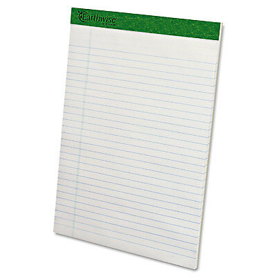 Earthwise By Ampad Recycled Writing Pad 8 12 X 11 34 White Dozen 20172