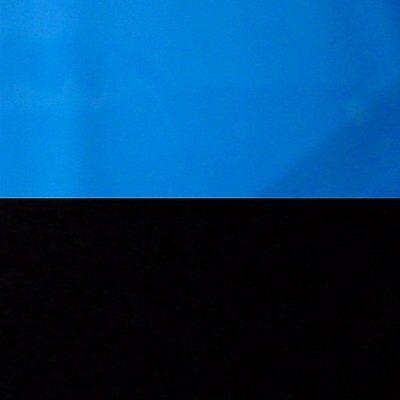 "9089 20"" x 48"" Fish Tank Background Black/Sea Blue Heavy Plastic Trim to Fit"