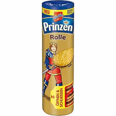 Prinzen Rolle Kakao 400g - Chocolate Cocoa Cookies - Sweets from Germany Chocolate Roll Cookies