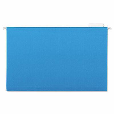 Universal Hanging File Folders 15 Tab 11 Point Stock Legal Blue 25box 14216
