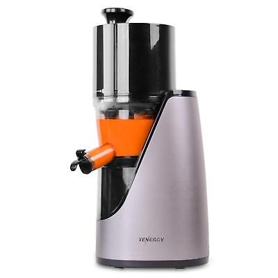 Tenergy Slow Masticating Juicer Cold Press Machine Juice Extractor Fresh Fruit