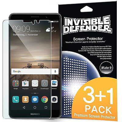 Huawei Mate 9 Screen Protector | Ringke Invisible Defender [3+1 Free / MAX HD]](huawei mate 9 deals)
