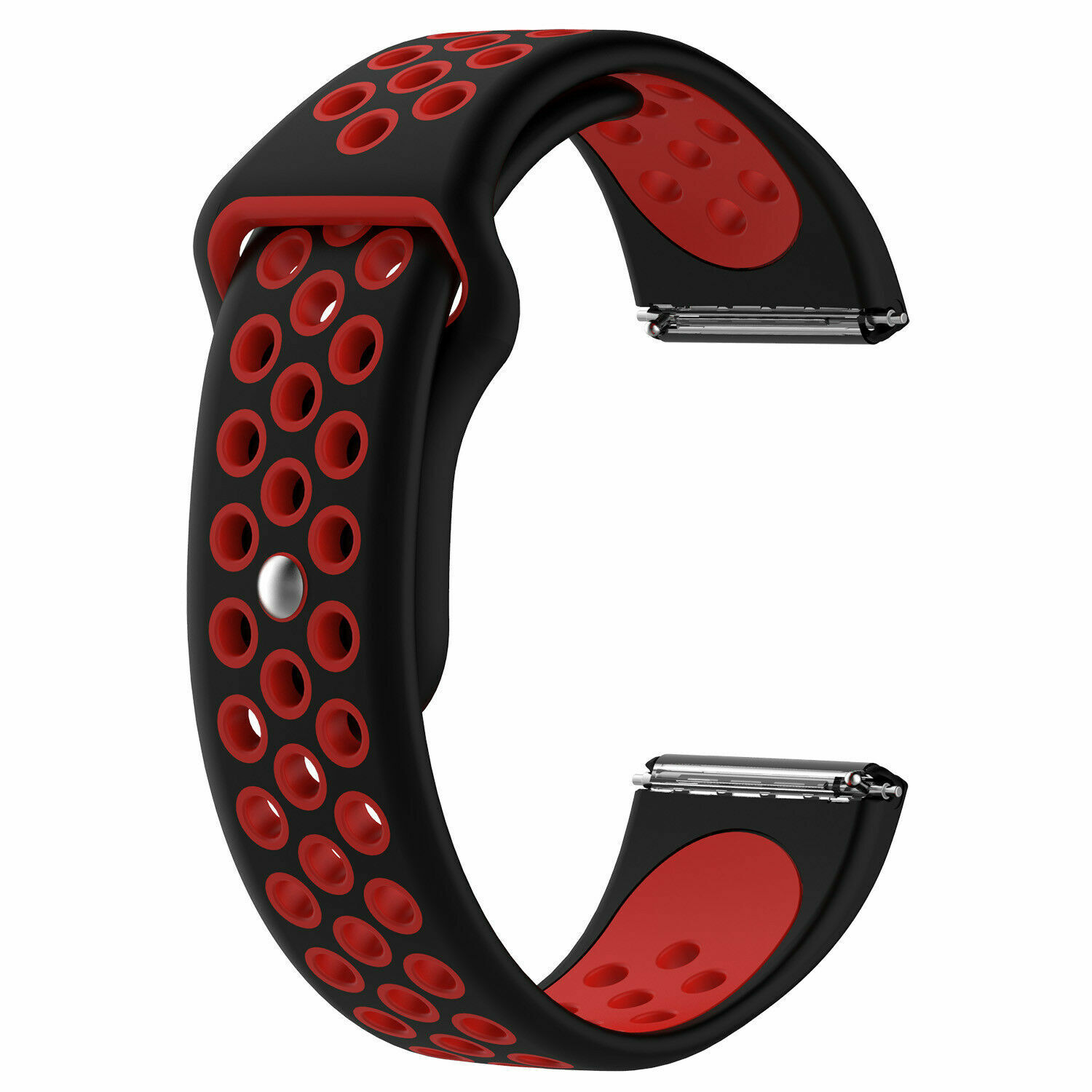 Sport Silicon Replacement Wristband Strap Breathable Watch Band For Fitbit Versa 8
