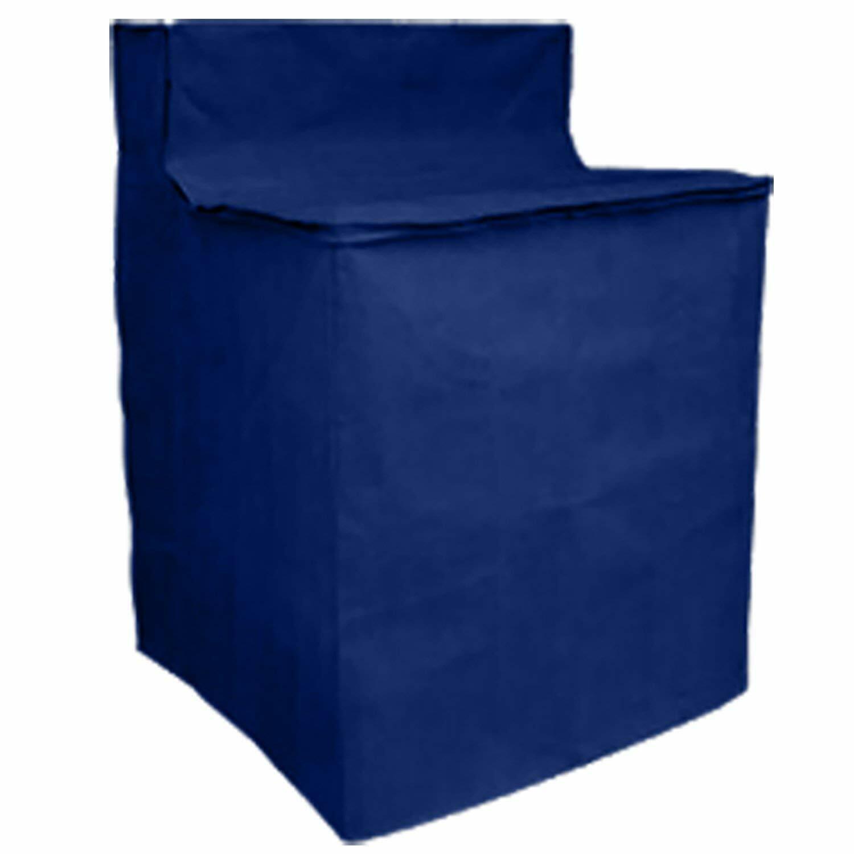 Washing Machine Cover Waterproof Heavyweight Zippered Appliance Cover Blue