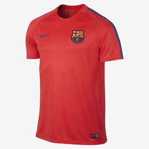 d01e9b880 Nike 16 17 FCB Barcelona Pre-Match Training Top 808924 672 Red Size M