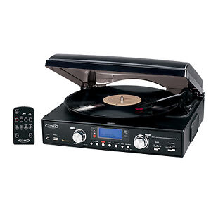 Jensen-JTA-460-Record-Player-Turntable-Record-To-USB-FLash-SD-Built-In-Speakers