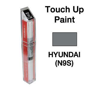 Hyundai Titanium Silver Paint Code