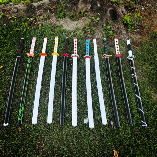 "42"" Fantasy Foam Japanese Demonic Slayer Samurai Sword Cosplay Christmas Gift"
