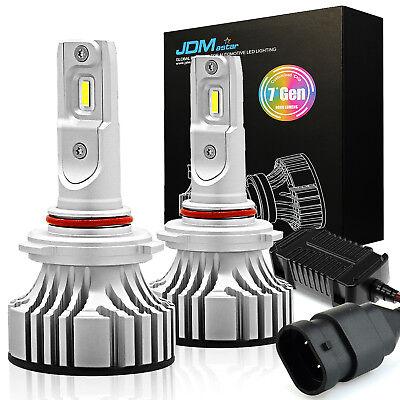 7TH LED Headlight Kit 9005 HB3 72W 6000K White 8000LM ZES Fog Driving Light Bulb