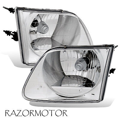 97-03/02 Replacement Headlight For Ford F150 Lightning SVT/Expedition Pair -