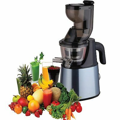 ElectriQ Whole Fruit Slow Masticating Juicer Fruit vegetable Juice Extractor