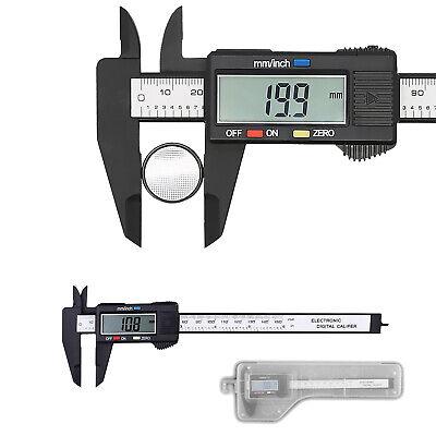 Digitale Messschieber (Digitaler Messschieber Schieblehre Messlehre 0-150 mm mit LCD Display Batterie)