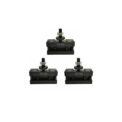 T1013 Set 3 Bxa 2 Quick Change Turning Facing Boring Tool Post Holder 250-202