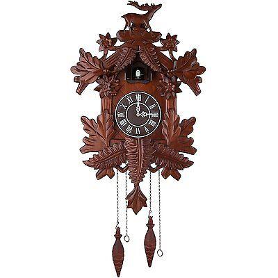 Vivid Large Deer Handcrafted Wood Cuckoo Clock CC105