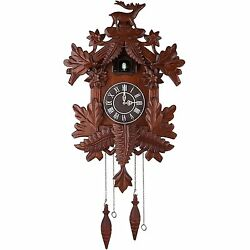 Vivid Large Deer Handcrafted Wood Cuckoo Clock CC105 s6