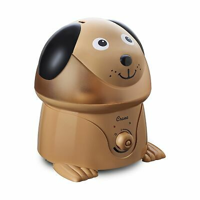 Crane Filter-Free Adorables 1 Gallon Ultrasonic Cool Mist Humidifiers, (Dog Mist)