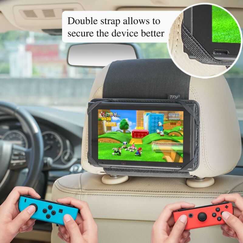 Universal Game Car Mount,Switch Car Headrest Holder Mount for Nintendo Switch