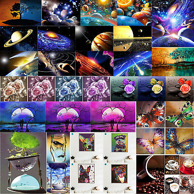 5D Diamond Painting Embroidery Cross Crafts Stitch Kit Home Decor DIY Kids Gifts