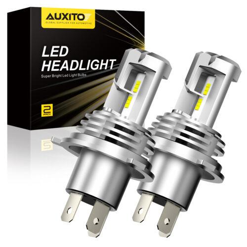 Canbus 2X H4 9003 HB2 LED Headlight Bulb Hi//Lo Beam 200W 24000LM 6500K Light