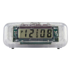 31008 Equity by La Crosse Clear Digital Alarm Clock with 0.6 LCD Display
