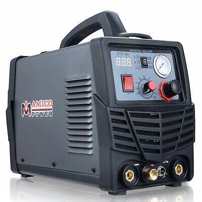 Amico Cts-160 30a Plasma Cutter 160a Tig-torchstick Arc Welder 3-in-1 Welding