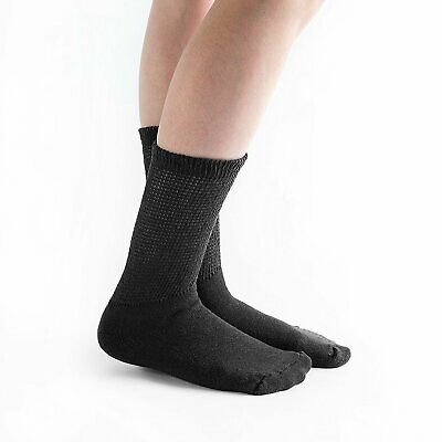 Doc Ortho Loose Fit Diabetic Socks, 3 Pairs, Crew