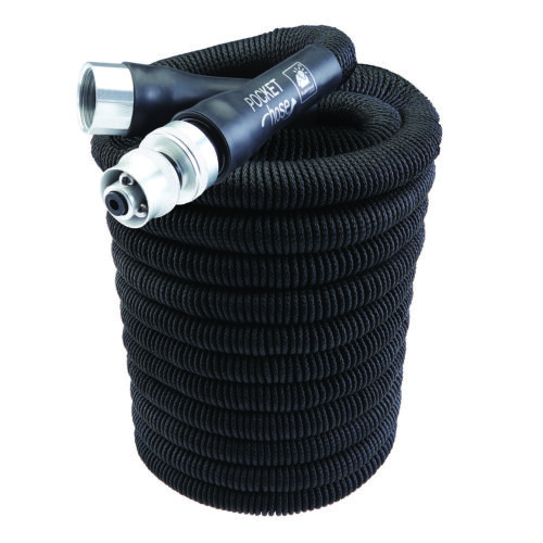 Pocket Hose Silver Bullet 50ft  Black -  **Free 2 Day Shipping Upgrade**