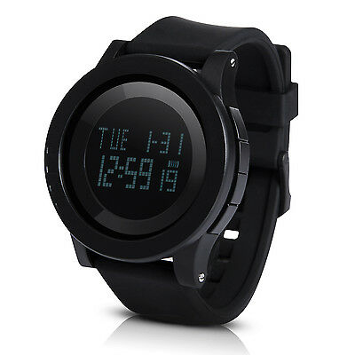 Hiwatch Men's Digital Watch Big Face LED Sport Waterproof Watches for Men