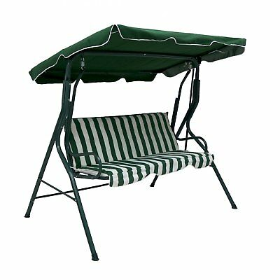 NEW Swinging Garden Hammock Swing Chair, Outdoor Bench Seat Seater Lounger Set
