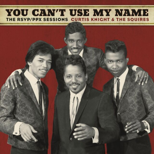 CURTIS KNIGHT JIMI HENDRIX You Can't Use My Name 150gm Vinyl LP 2015 NEW  SEALED