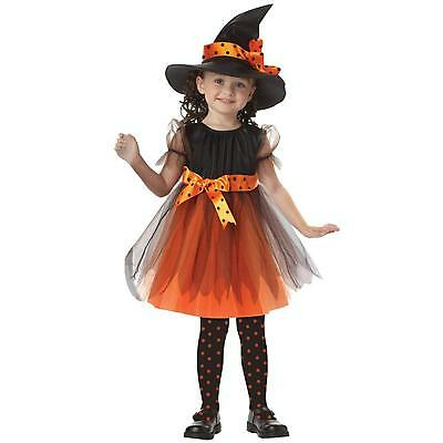 Timsa Witch Costume Kids Halloween Cosplay with Hat Choose a Color & Size F/S - Halloween Costumes With A Dress