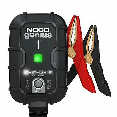 NOCO® GENIUS 1 Battery Charger w/Interchangeable Connector