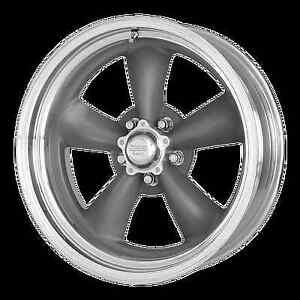 4 Felgen American Racing VN215 Torq Thrust 16x7, 16x8 LK 5x4,7 GM PONTIAC CHEVY